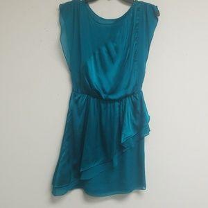 Alice + Olivia Turquoise Sleeveless Dress Size SP